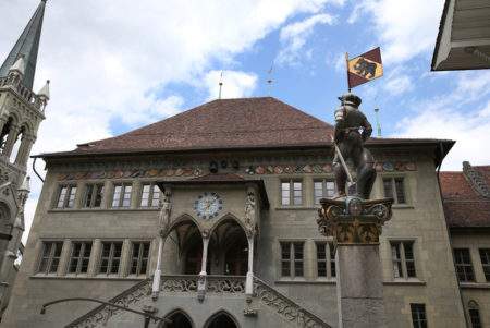 Rathaus Sandra Rutschi |Autorin Bern