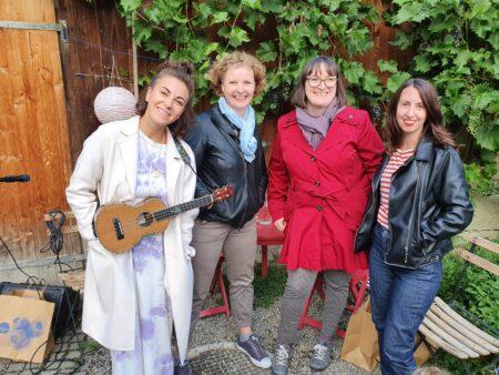 Grenzgaenge Im Stiftsgarten Sandra Rutschi |Autorin Bern
