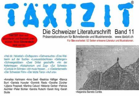 Taextzit Band 11 Sandra Rutschi |Autorin Bern